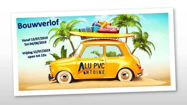Alu PVC Antoine Bouwverlof 2019